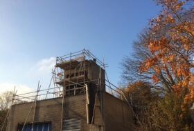 Edge protection / Handrail and Tower Olney