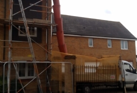 Scaffold Tower and Binshoot Newport Pagnell