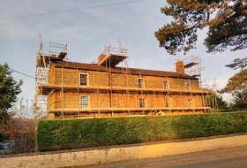 Scaffold For Painting/Chinmney Work Olney