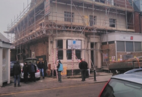 Scaffolding Painting and Re-Pointing Bedford